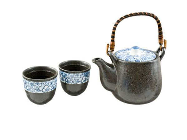 Blue Blossom Design Tea Set