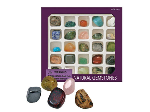 Natural Gemstones Box Set