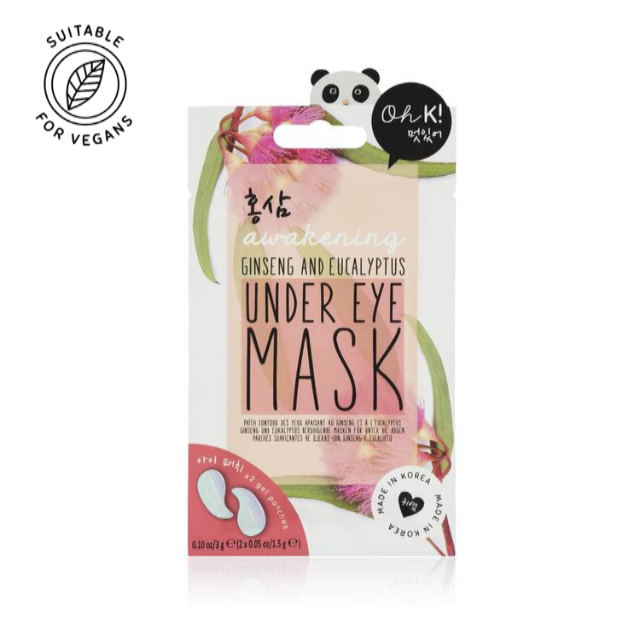 Oh K! Ginseng & Eucalyptus Under Eye Mask