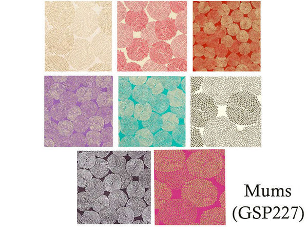 Mums Design Decorative Paper