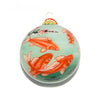 golden koi ornament