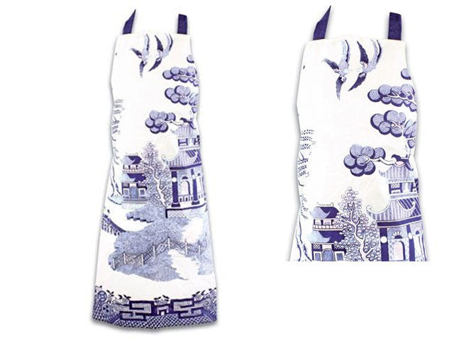 Blue Willow Apron