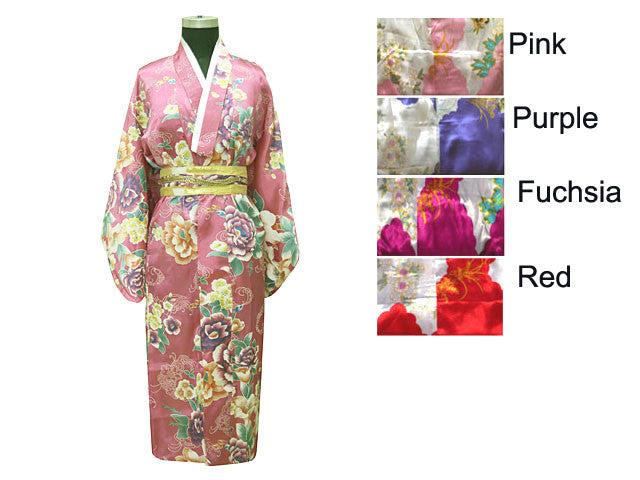 Printed Yakada Geisha Dress - For Girl