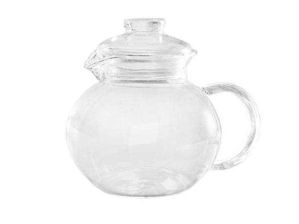 Borosilicate Glass Tea Pot w.Strainer