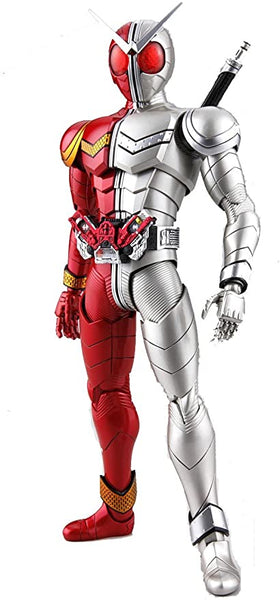 Kamen rider with white heat model figure