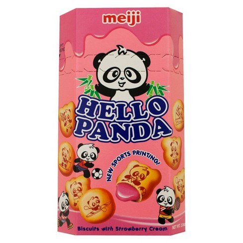 Meiji Hello Panda Creme-Filled Cookies (Buy More and Save!)