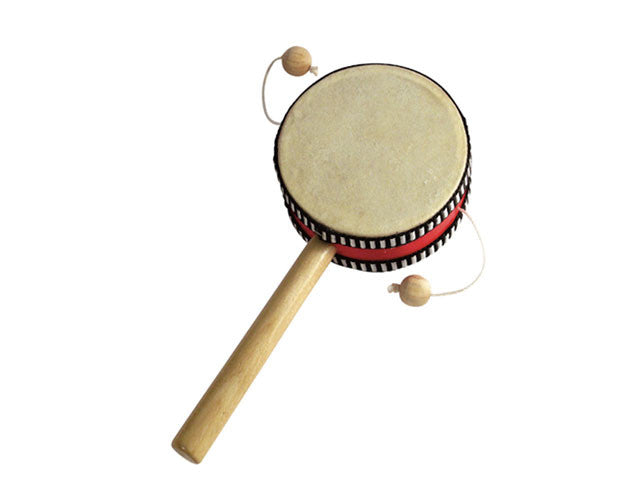 Wooden Spindle Hand drum (Monkey Drum)