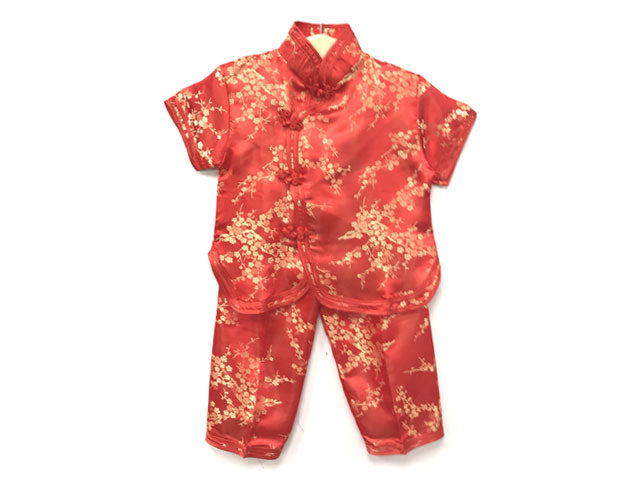 Brocade Girls Short sleeves Outfit