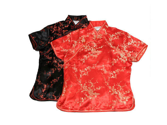 Brocade Mandarin Top