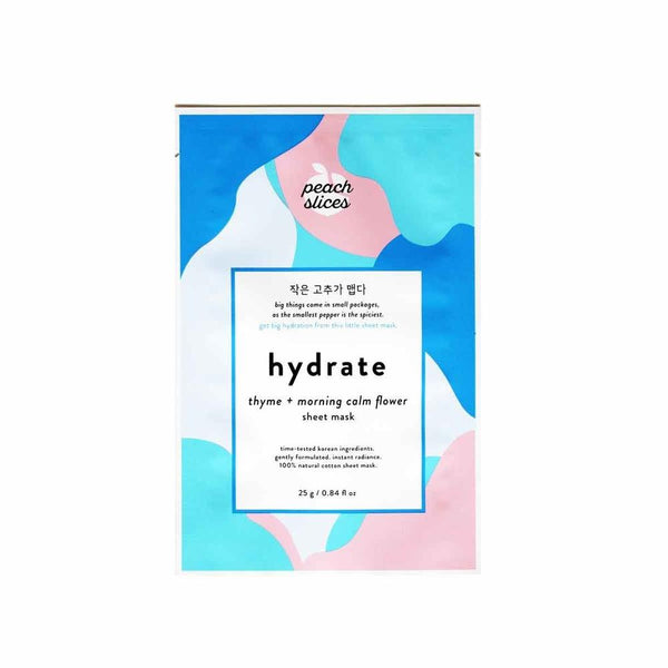 K-beauty sheet mask for hydrating the skin
