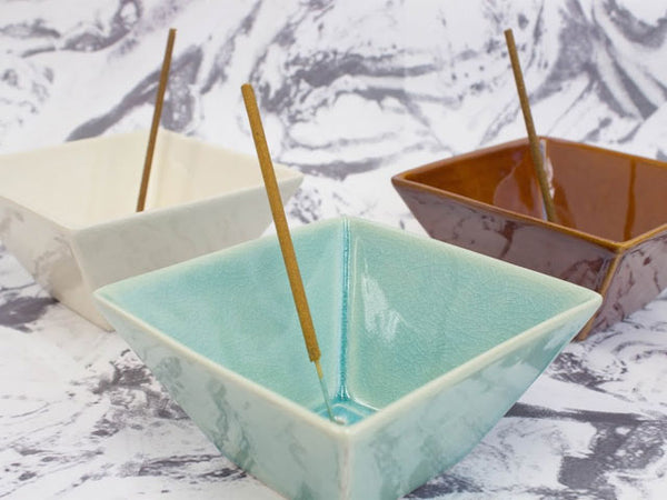 Ceramic Incense Holder (For Stick and Cone)