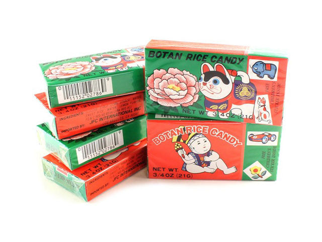 Botan Rice Candy (3 or 6 packs)