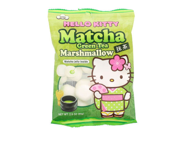 Hello Kitty - Matcha Green Tea Marshmallow