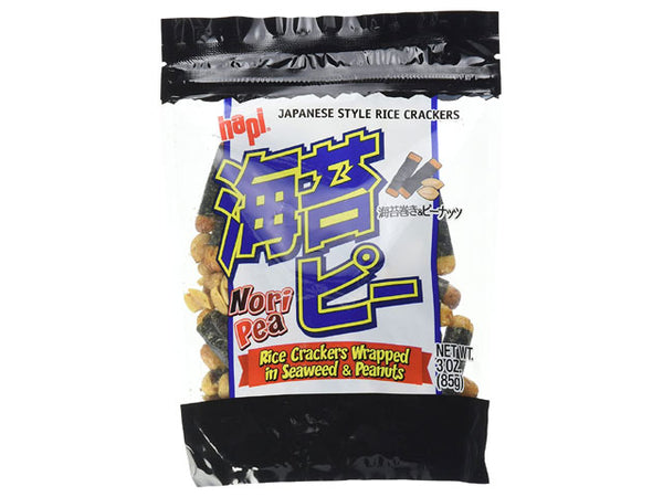 Hapi Seaweed Wrap Rice Crackers with Peanuts