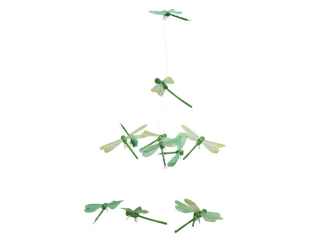 Green Dragonfly garland