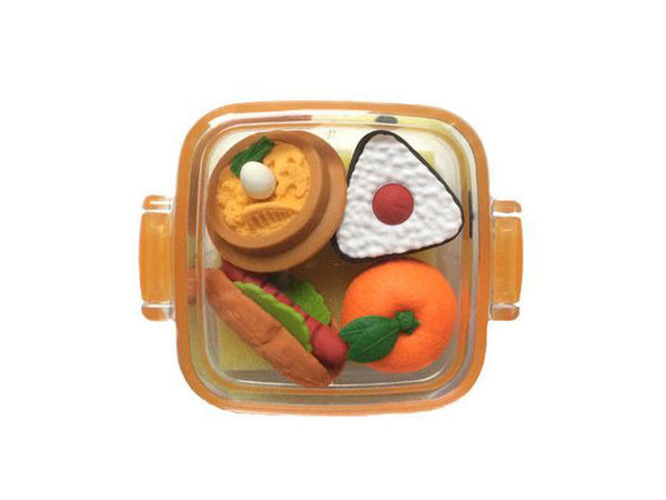 Lunch Box Eraser Set