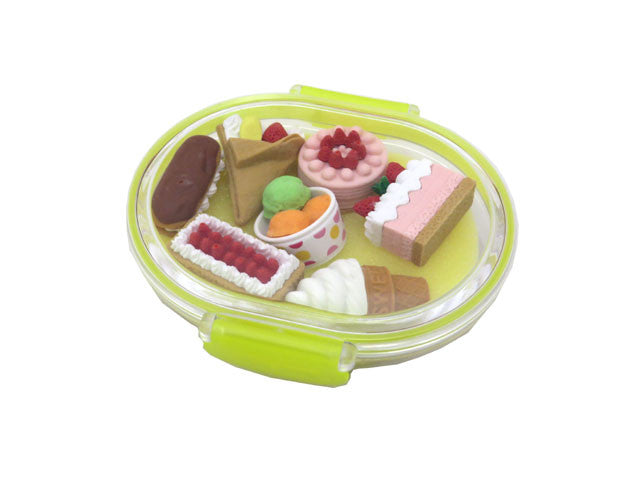 Mini Dessert Eraser Set