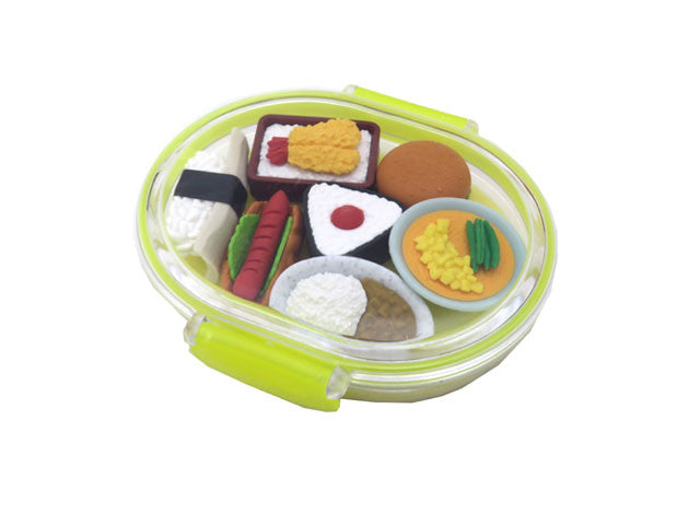 Mini Restaurant Food Eraser Set