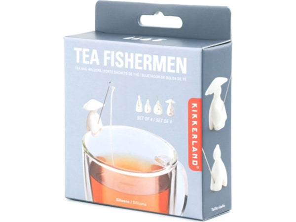 Tea Fishermen Tea Bag Holders (Set of 4)