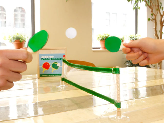 Desktop Mini Table Tennis (Ping Pong)