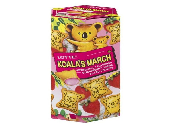 Lotte Koala's March Cream-Filled Cookies (3 pack or 6 pack)