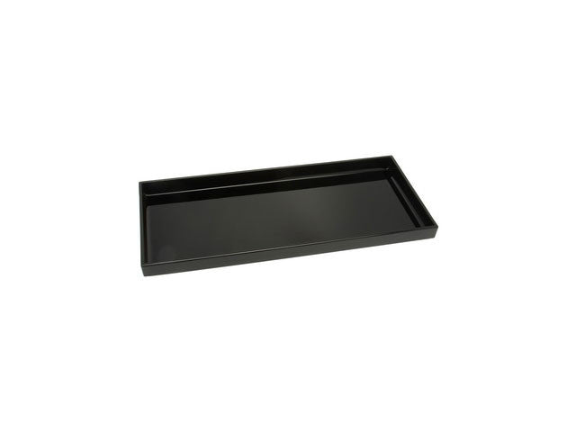 "Plastic Lacquer Serving Tray - Rectangular 14.25"" x 6.5"""