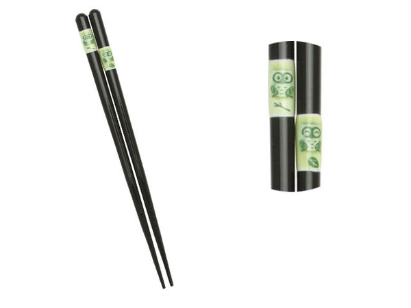 Green Owl Chopsticks ( Temp out of stock )
