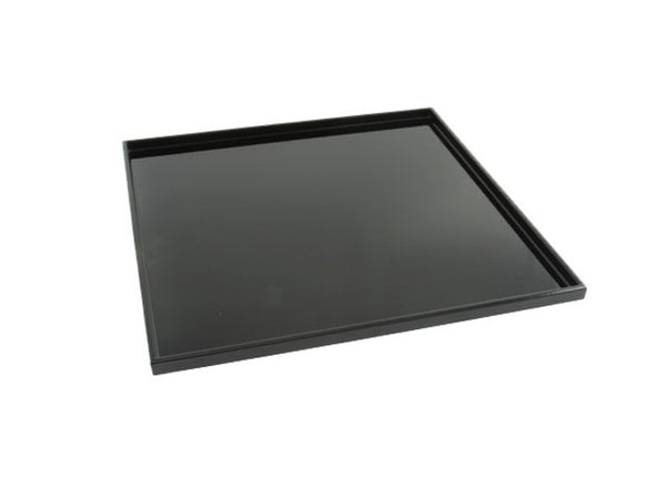 Low Profile Lacquer Plastic Serving Tray - Square