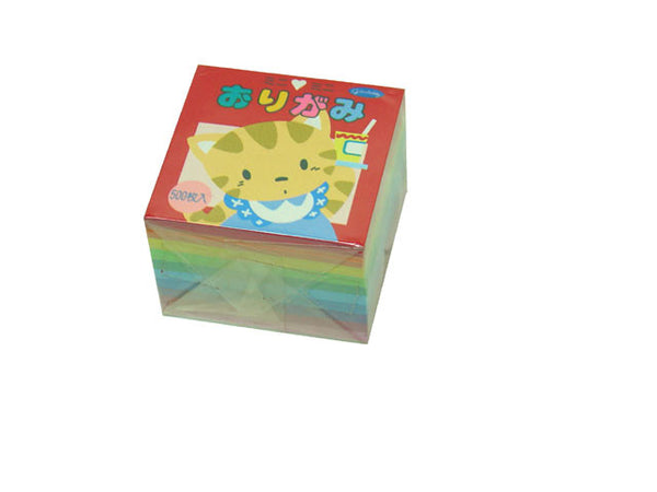 Assorted Solid Color Origami Paper - 1.5 in.