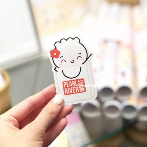 Dim Sum Sticker: Pearl River Mart