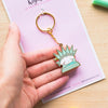 Cute keychain of Statue of Liberty