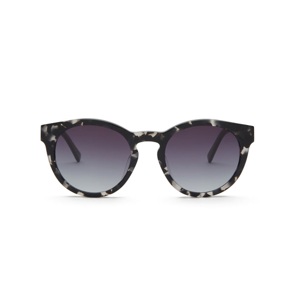 Black tortoiseshell sunglasses, front view