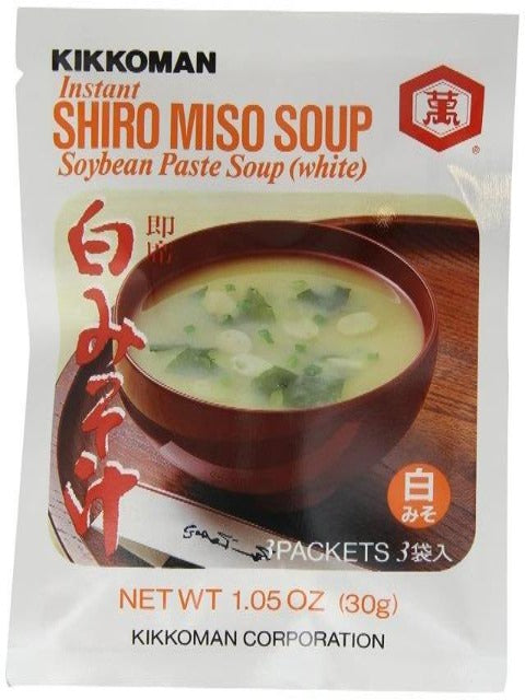 Shiro Miso Soup (3 or 6 packs)