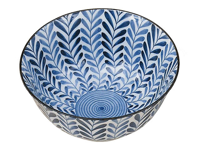 Fern Leaf Design Bowl - 6in ( Available 12/15/19 )