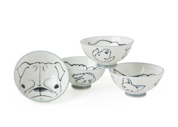 Doggy Design Rice Bowl***