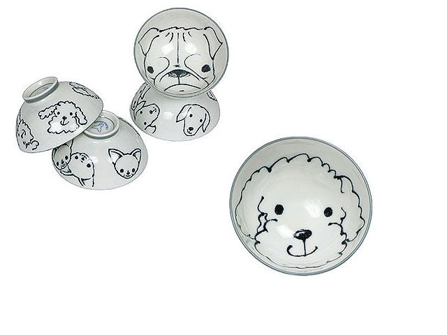 Doggy Design Rice Bowl
