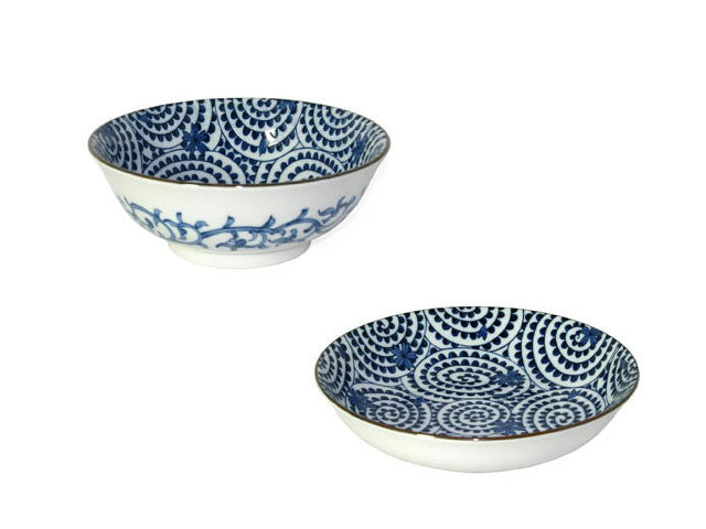 Sakura Takokarakusa Design Ceramic Bowls & Dishes