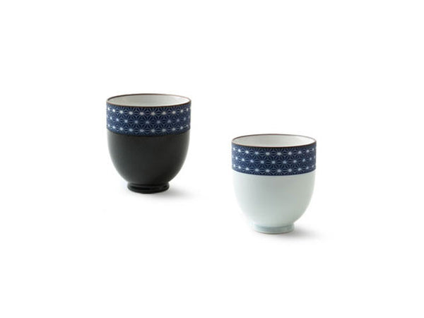 Sashiko Pattern Border Teacup