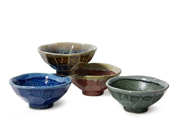 Jewel Boulder Rice Bowl Set  (5 inch)