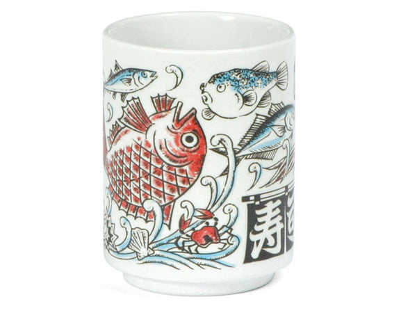 Sushi Fish Teacup ( Temp out of stock)