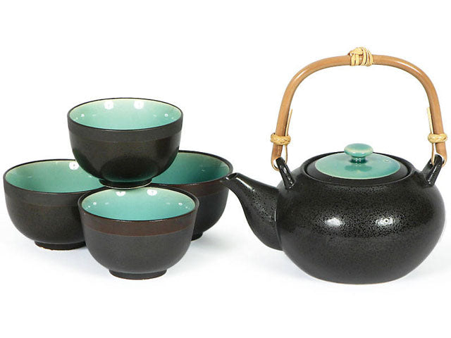 Ocean Blue Tea Set