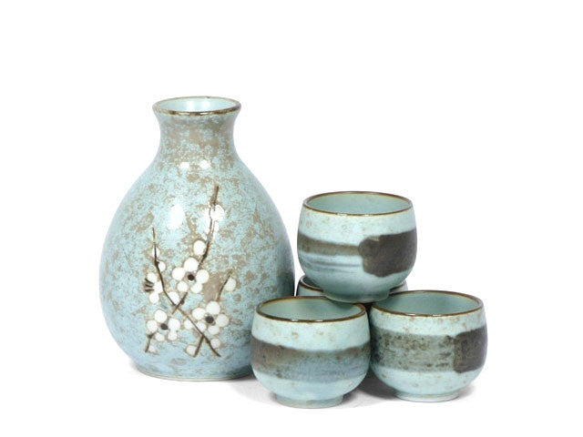 Blossom Design Sake Set ( Out of Stock )