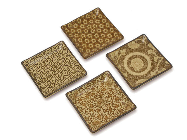 Antique Sepia Series Plate Set ( Out of Stock )