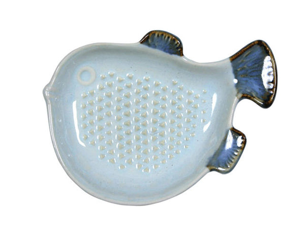 Fish Shape Design Porcelain Ginger Grater ( Out of Stock )