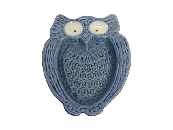 Blue Owl Porcelain Ginger Grater (Available After 04-14-2021)
