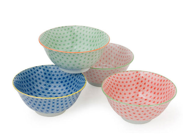 Sashiko Color Bowls - 5.75 in.