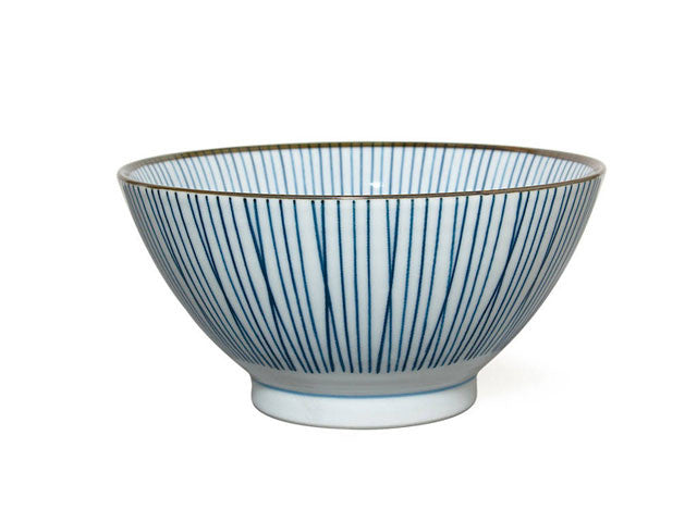 Sansui Lines Noodle Bowl - 7 in.