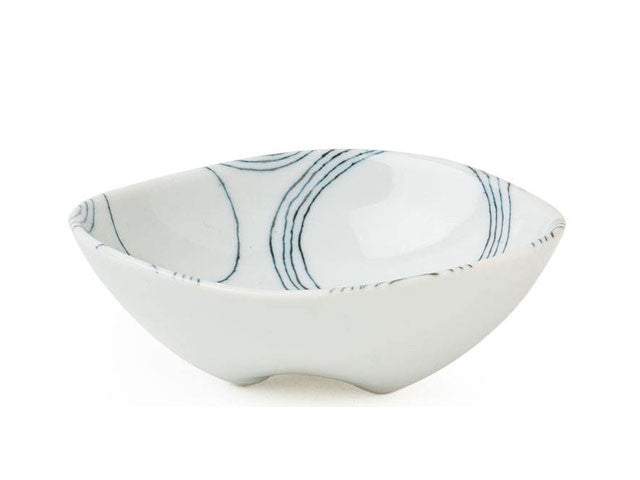 Ito Tsumugi Footed Bowl - 5""