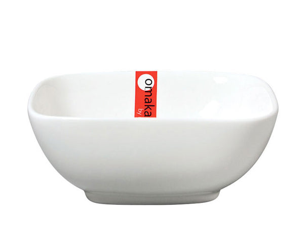 Omakase White Ceramic  Bowl - Square