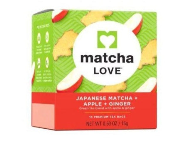 Ito En Matcha LOVE Japanese Matcha + Apple + Ginger Tea Bags